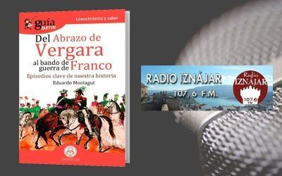 Eduardo Montagut presenta su nuevo libro sobre historia en Radio Iznájar